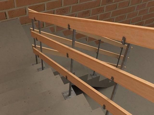 Proteção de Escada para Obra